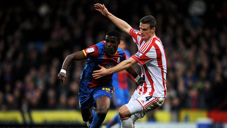 Wilfried Zaha and Robert Huth: Crystal Palace and Stoke couldn't be separated