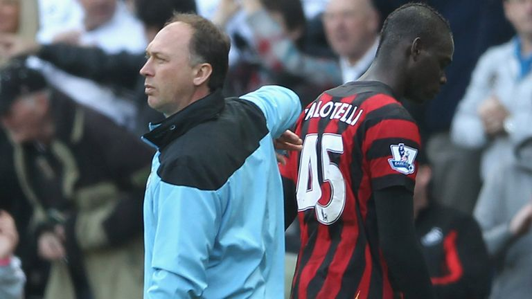 David Platt: Believes Mario Balotelli will remain at Manchester City
