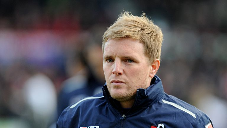 Eddie Howe: Bournemouth suffered a narrow defeat to Mauro Boselli's goal