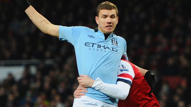 Edin Dzeko: Has been linked with move away from City