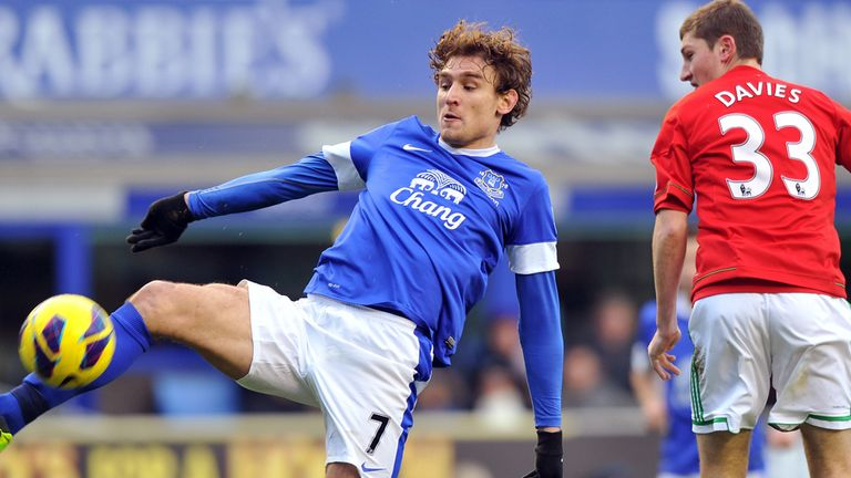 Everton striker Nikica Jelavic has struggled to find the net of late