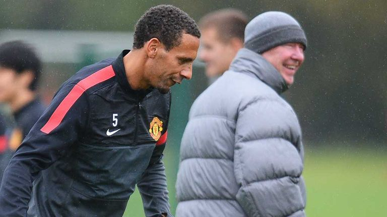 Rio Ferdinand: Manchester United defender tipped to sign new deal by Sir Alex Ferguson