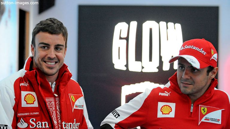 Fernando Alonso: Keen to see Massa continue to push him