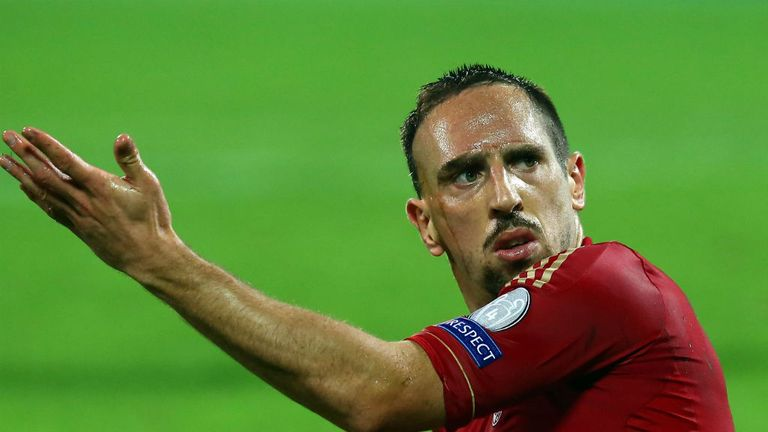 Franck Ribery: Keen to put last year's Champions League final pain behind him