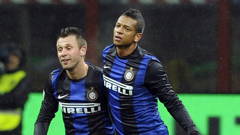 Freddy Guarin: Celebrates opener in cup thriller