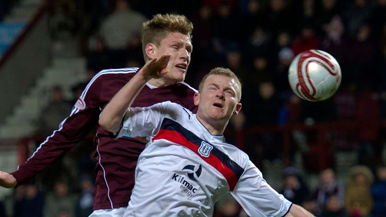 Marius Zaliukas: Spent seven years at Tynecastle but will not be joining Rangers
