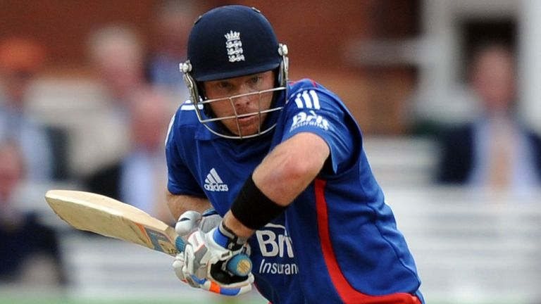 Ian Bell: struck 13 fours and one six in his third one-day international hundred