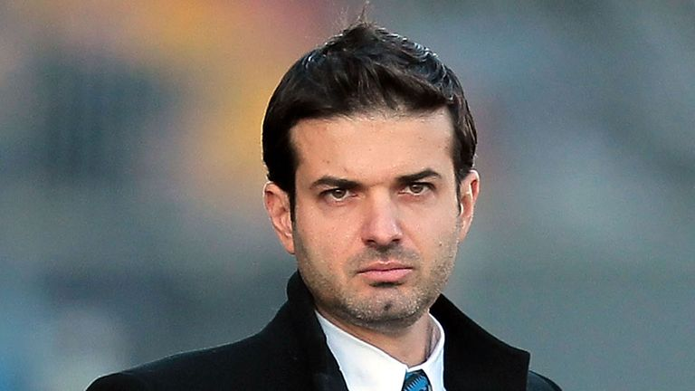 Andrea Stramaccioni: Upbeat about Champions League aim