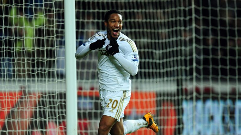 Jonathan De Guzman: Ended a wonderful team move to give Swansea 3-0 lead