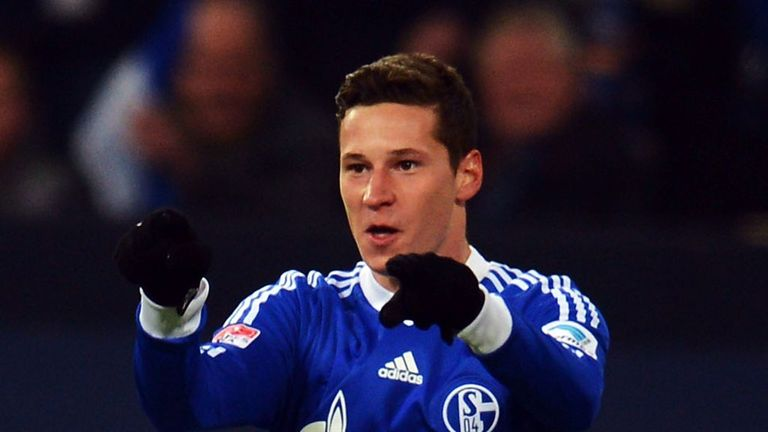 Julian Draxler: Schalke midfielder has been linked with other clubs