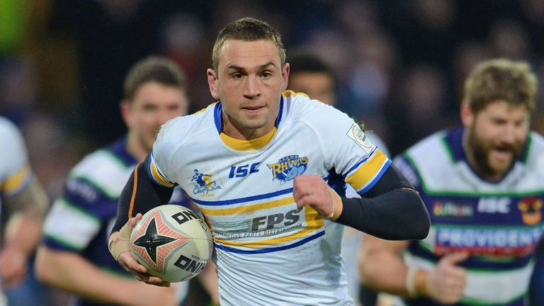 Kevin Sinfield: Does not feel he will get an opportunity to play rugby union