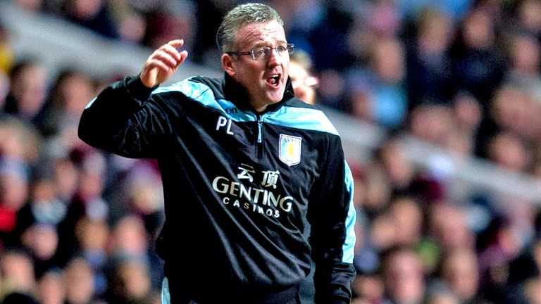 Paul Lambert: Will only bring in players that are better than current squad