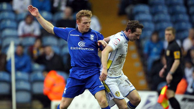 Chris Burke was on the scoresheet twice against Forest