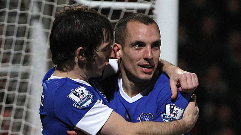 Leon Osman: Midfielder claims current Everton side is best he's seen since his time at Goodison Park