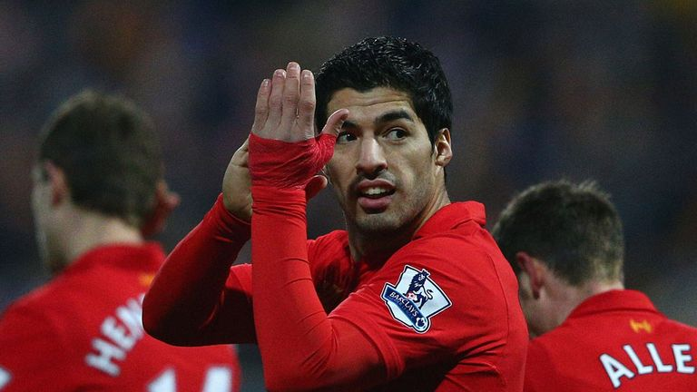 Suarez: the second best goals-per-game ratio of any South American Premier League player