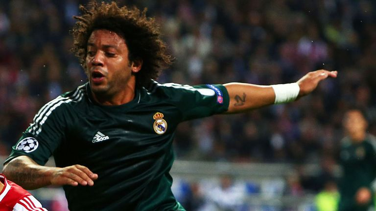 Marcelo: Real Madrid full-back rates Gareth Bale's qualities