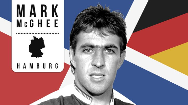 Mark McGhee: Enjoyed European success with Aberdeen before joining Bundesliga giants Hamburg