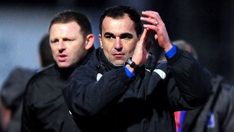 Roberto Martinez: Hoping to steer Wigan to Premier League safety