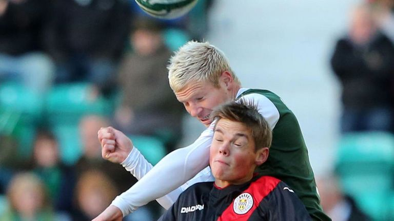 Ryan McGivern: Set to extend his loan deal at Hibs until the end of the season