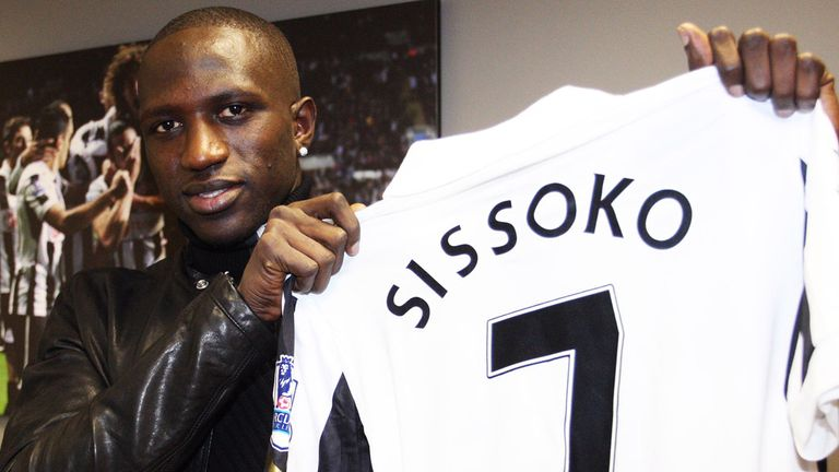 Moussa Sissoko: Fifth Frenchman to join Newcastle this month