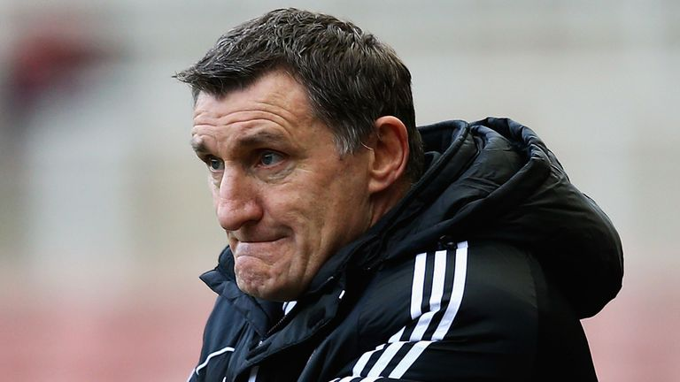 Tony Mowbray: Sixth defeat in eight matches