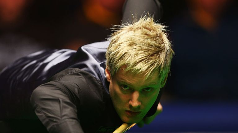 Neil Robertson: Will face Cao Yupeng in the quarter-finals of the Chinese tournament