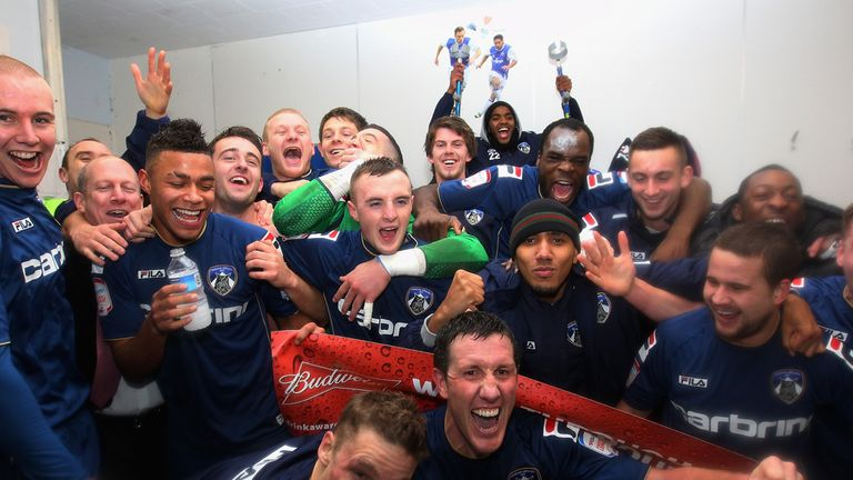 Oldham: Underdogs celebrate famous FA Cup win over Liverpool