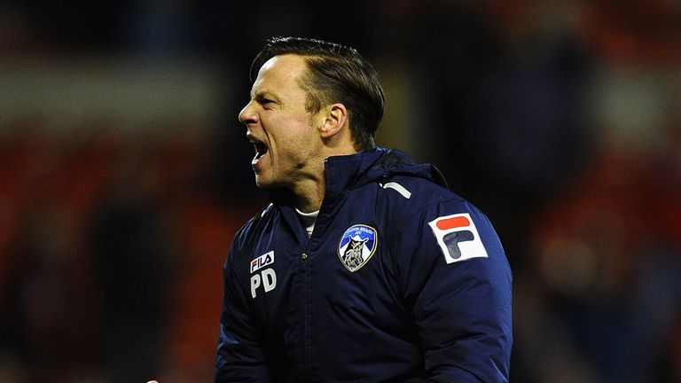 Paul Dickov: Oldham manager focused on celebrating FA Cup shock