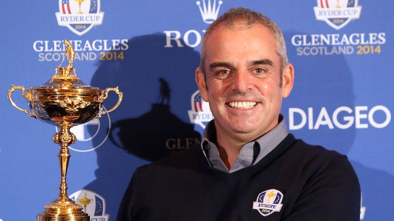 Paul McGinley: New Ryder Cup captain
