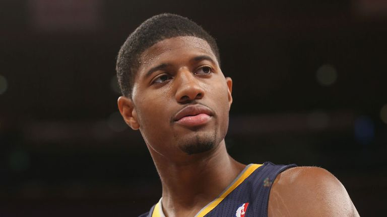 Paul George: Led the way for the Pacers against the Knicks with 24 points and 11 rebounds