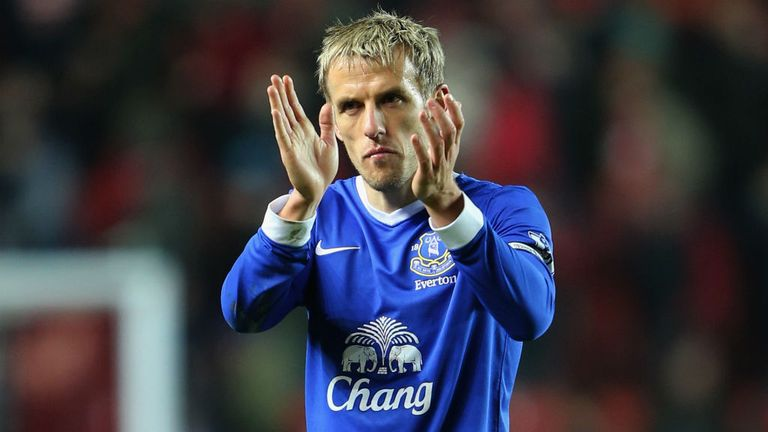 Phil Neville: Everton captain to join England U21 coaching staff