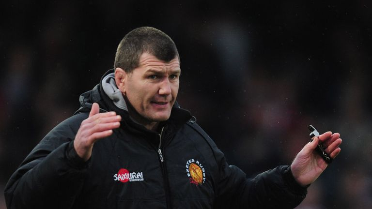 Rob Baxter: head coach retains trio for the 2013/14 Aviva Premiership season