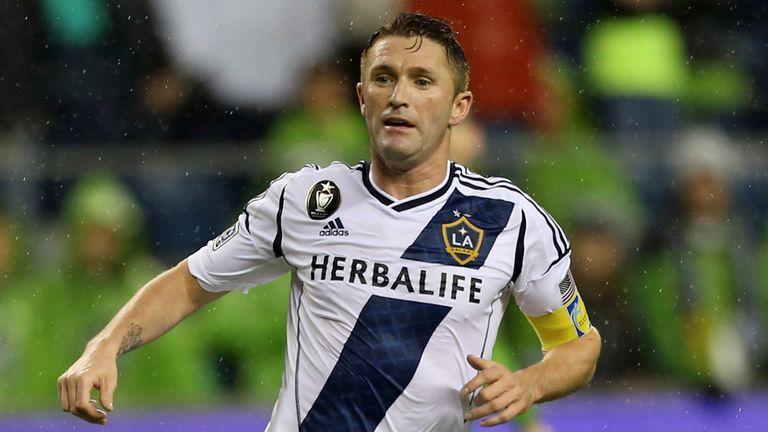 Robbie Keane: Striker is back training with Spurs during MLS off-season