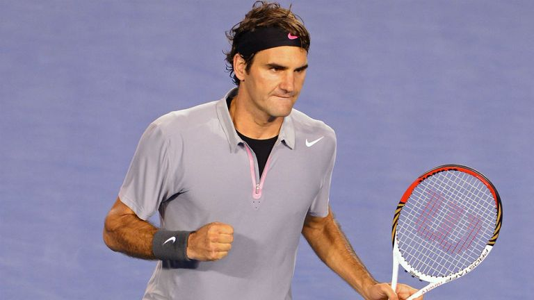 Roger Federer: Thrashed Grega Zemlja to progress to round two