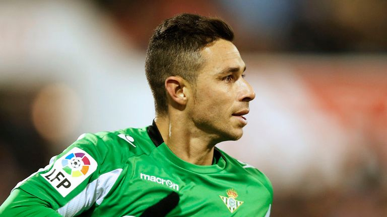 Ruben Castro: Scored twice for Real Betis