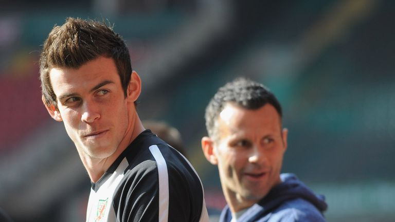 Gareth Bale: Praised by fellow Welshman Ryan Giggs