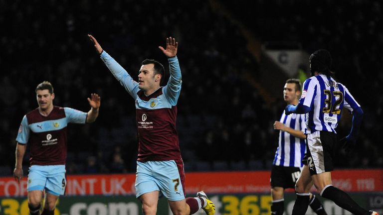 Ross Wallace: Celebrates his penalty