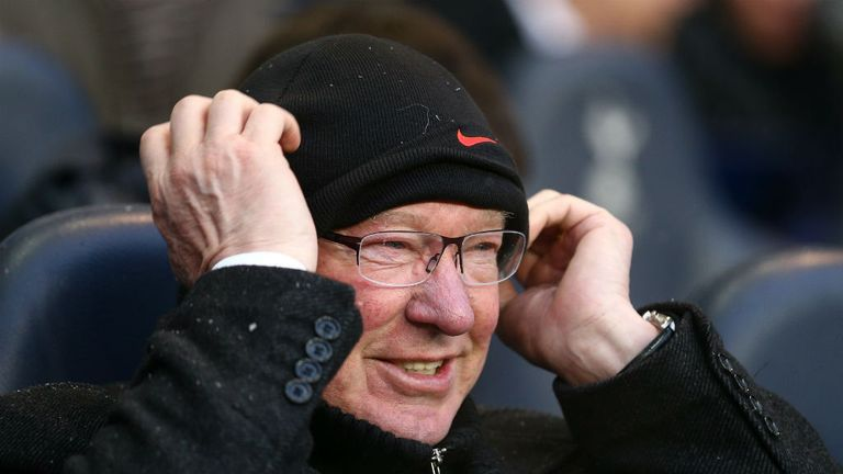 Sir Alex Ferguson: Saw his side survive a second-half Southampton fightback