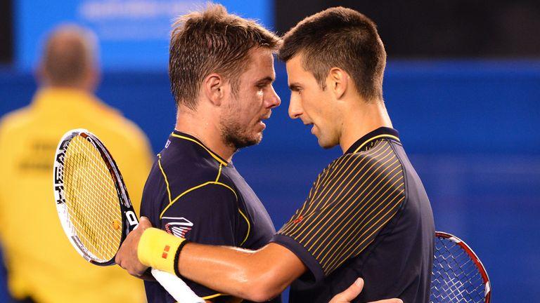 Stanislas Wawrinka and Novak Djokovic played out a couple of classics this year