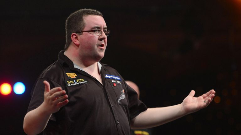Bunting: faces Peter Wright in the first round in Matchplay