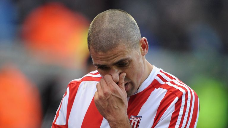 Jon Walters: Stoke striker netted two own goals and missed a late penalty