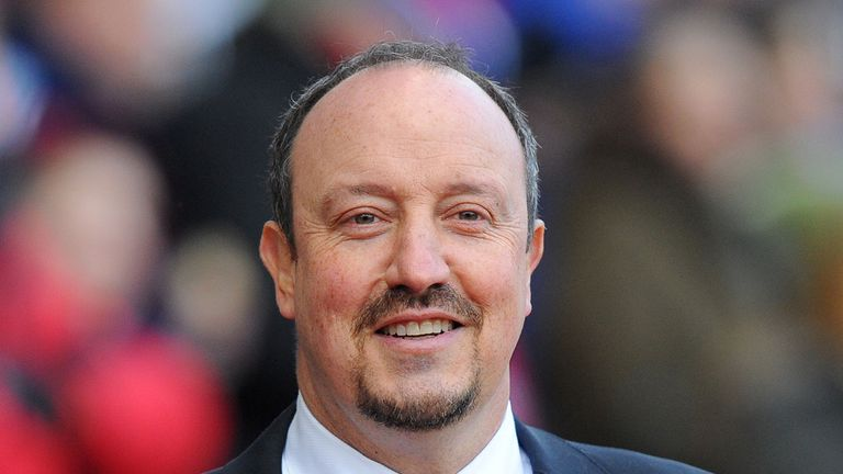 Rafa Benitez: Revelling under the pressure