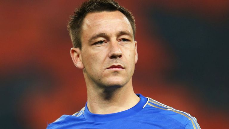 John Terry: Back in action after collision with Luis Suarez during draw with Liverpool on 11th November