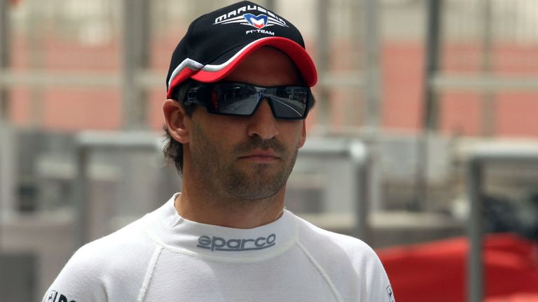 Timo Glock: Axed by Marussia earlier this week