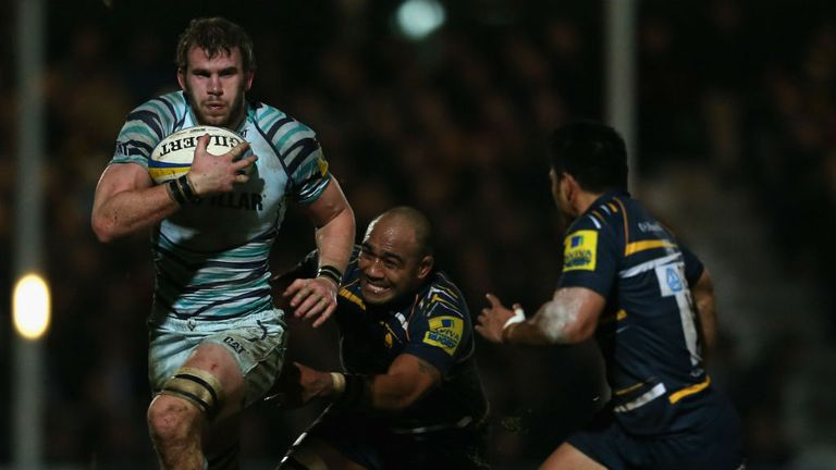 England back-rower Tom Croft returned to action after nine months out