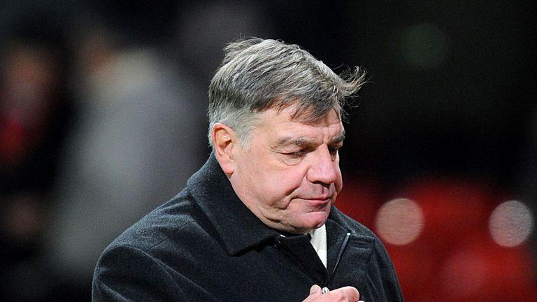 Sam Allardyce: Angry at the referee