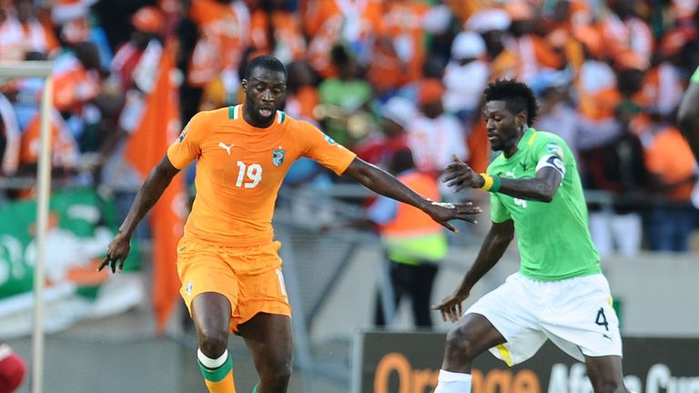Yaya Toure: Scored twice in Ivory Coast win