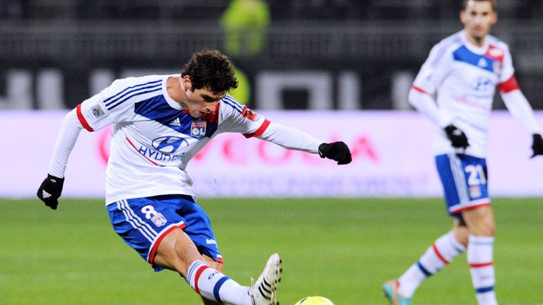 Yoann Gourcuff: Has been challenged to shine by Aulas