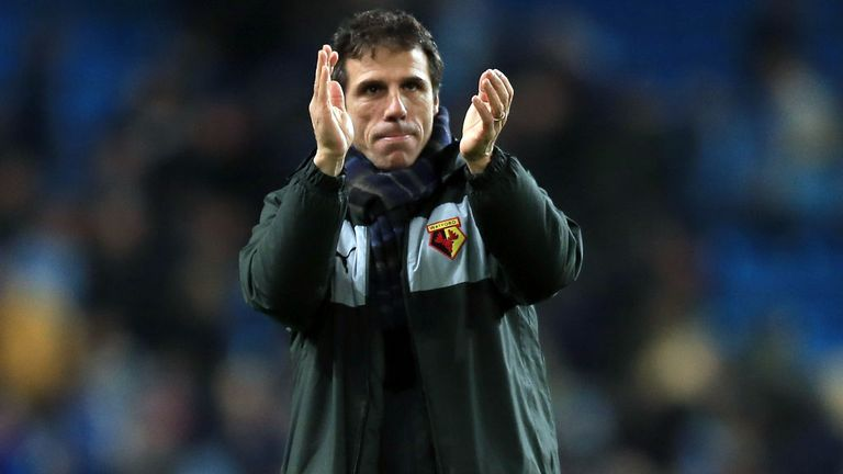 Gianfranco Zola: Looking for Watford to cement their top-six standing