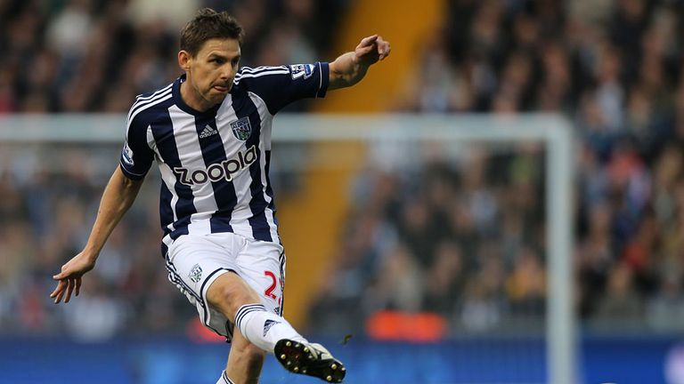 Zoltan Gera: West Brom midfielder out for the rest of the season